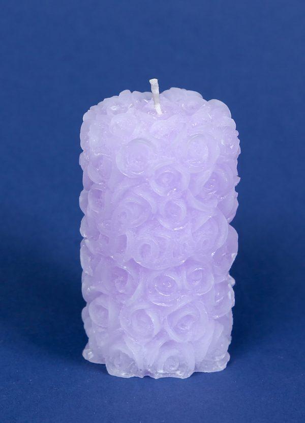 Fragrant candle Rose – cylinder
